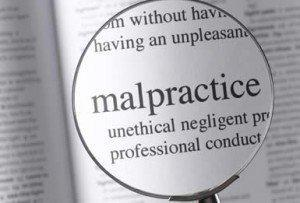 Malpractice Word in a Book